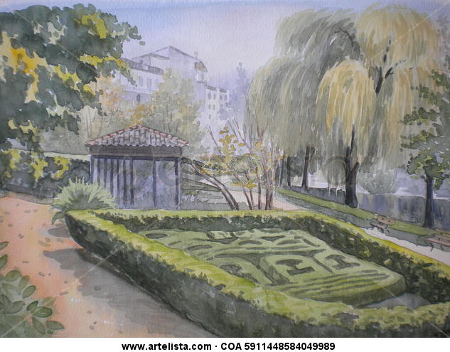 jardines de allariz josep diaz gallardo