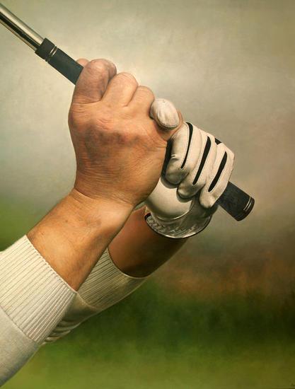 "Antonio Capel ""Golf"" Lienzo Óleo Deportes"