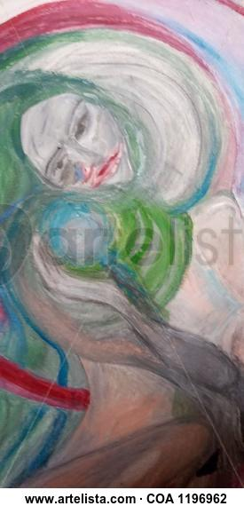 Maria Figure Painting Acrylic Canvas