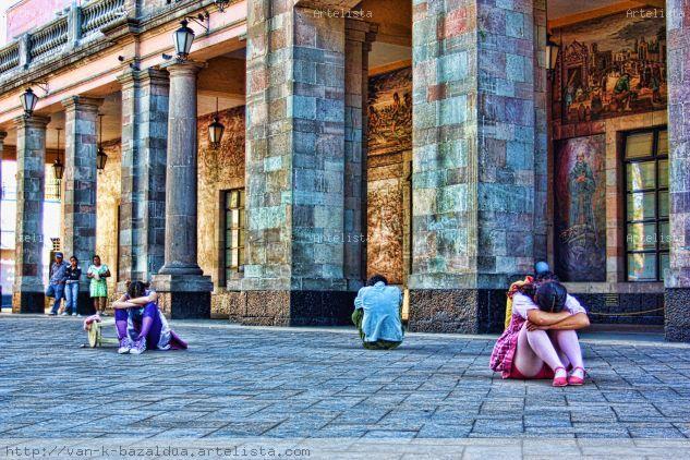 Solo yo. Color (Digital) Fotoperiodismo y documental