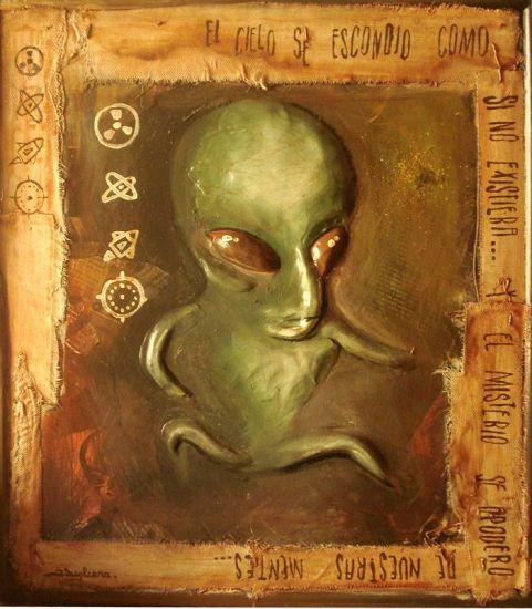 extraterrestre Acrílico Tabla Otros