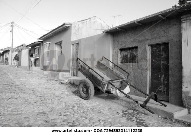 carruaje antiguo de Cuba  Fotoperiodismo y documental Blanco y Negro (Digital)
