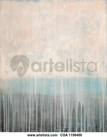 Mar adentro Paisaje Acrílico Tabla