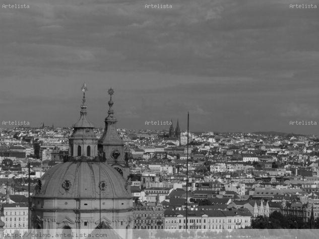 Malá strana ( Praga) Arquitectura e interiorismo Blanco y Negro (Digital)