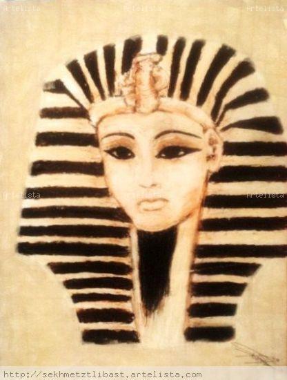 Faraón Óleo Otros Retrato
