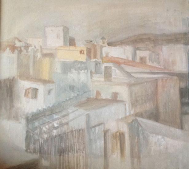 Tanger toujours 2 1994 Lienzo Óleo Paisaje