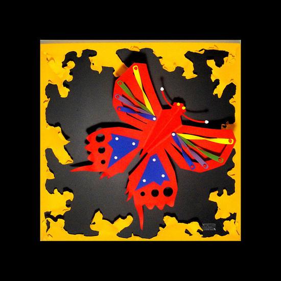 mariposa Metal Mixta