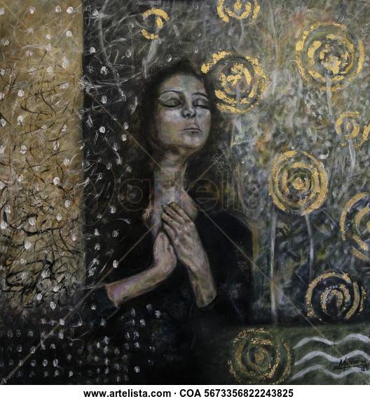 YO SOY Figure Painting Acrylic Panel