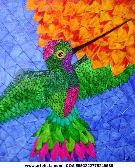 Colibri Otros De vidriera Animales
