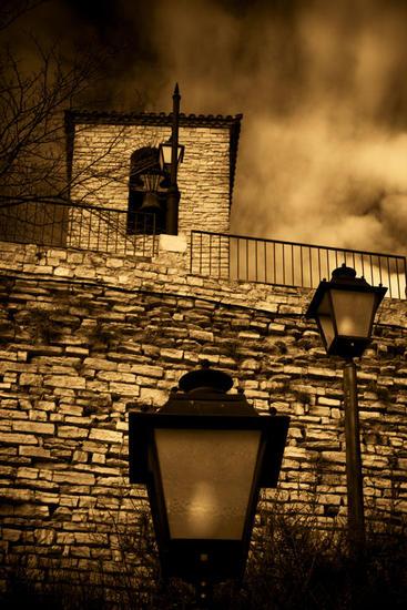 The three Lamp posts Color (Digital) Arquitectura e interiorismo