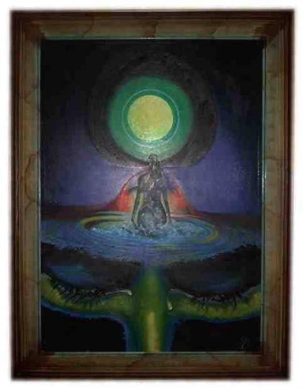El hemisferio de los sueños Óleo Lienzo Retrato