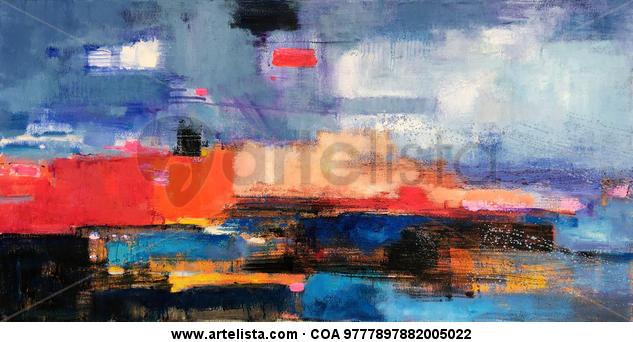 Abstract 291 Lienzo Óleo Otros