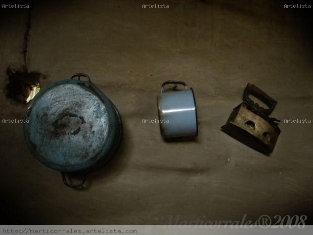 Bodegon de Cacharos de cocina Color (Digital) Bodegones