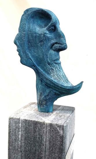 """Sabiduría"" Figurative Bronze"