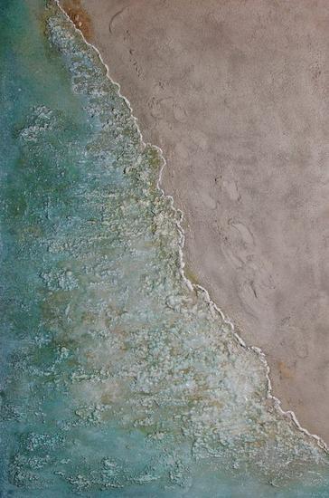 orilla Lienzo Otros Marina