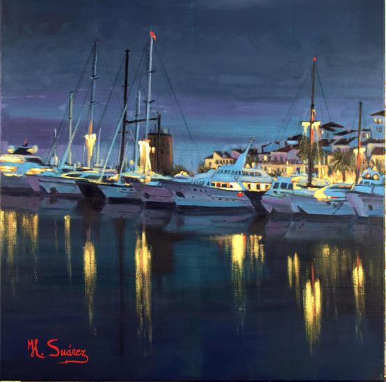 puerto banus.- nocturno