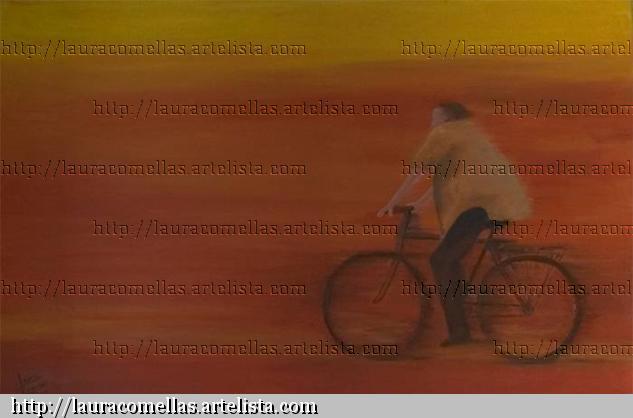 Bicicleta en movimiento