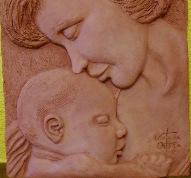 Maternidad en gres