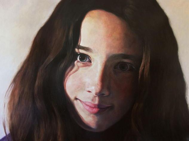 El desafío de Anthea Lienzo Óleo Retrato