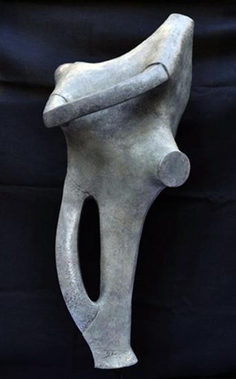 Susurros de Luz, escultura en Brnce Bronce Figurativa