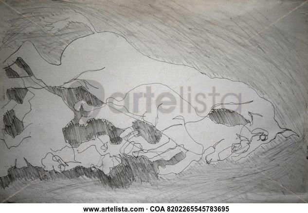 CABALLO Y POTRO Pencil