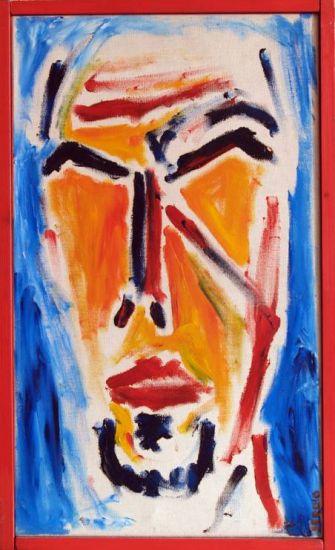 autorretrato 4 Lienzo Acrílico Retrato