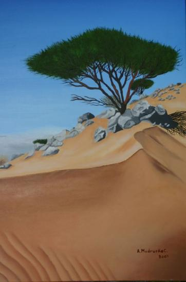 El árbol de la vida Canvas Oil Landscaping
