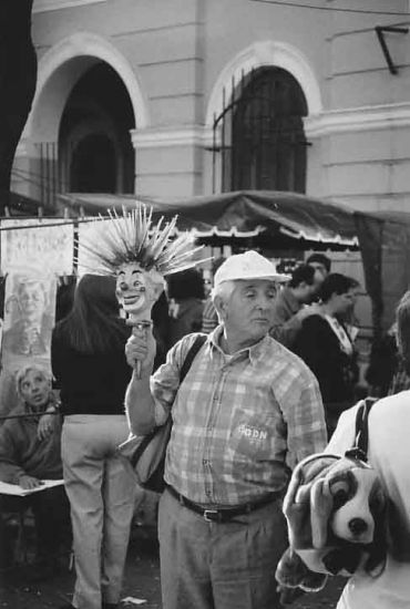 El pirulinero Blanco y Negro (Química) Fotoperiodismo y documental