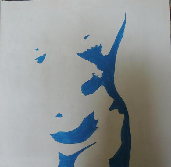 Blue Otros Acrílico Lienzo