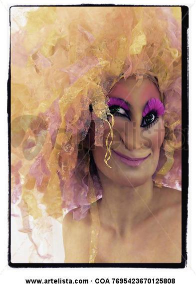 Señorita Bonifacia Color (Química) Retrato