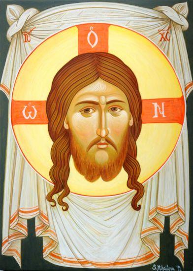The Holly napkin of Jesus Christ