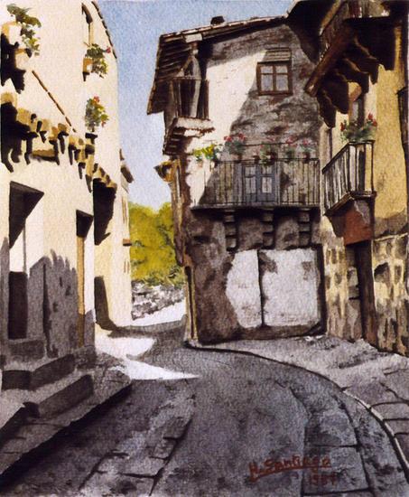 calle de la alberca