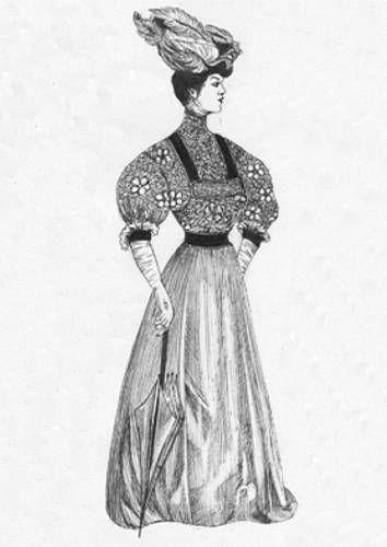 Dama Antigua Tinta