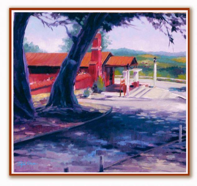 El Totoral In Situ Oil Canvas Landscaping