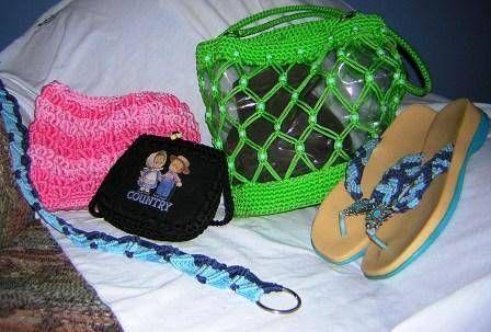trabajos en crochet-macrame Otros Otros