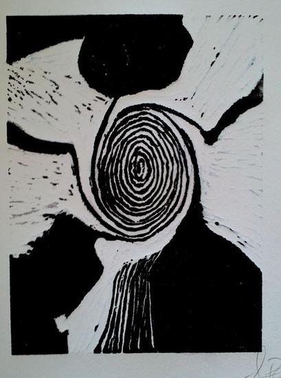 La Espiral Linograbado
