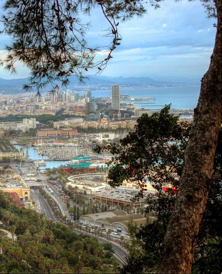 Barcelona sea Travel Color (Digital)