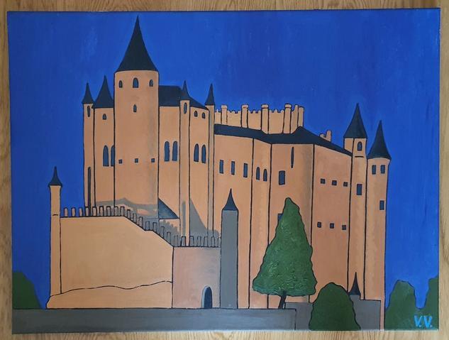 Alcázar de Segovia Otros Óleo Lienzo