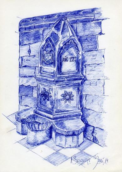 fuente iglesia san bartolomé de jávea