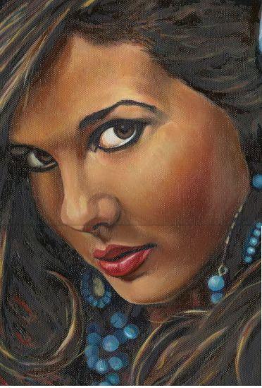 Retrato Oil Portrait Canvas