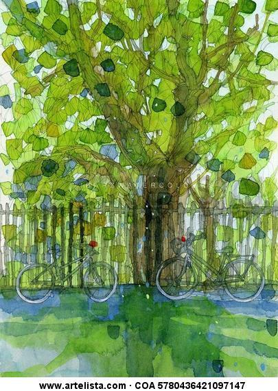 PelHAM SQUARE II Brighton508 Landscaping Paper Watercolour