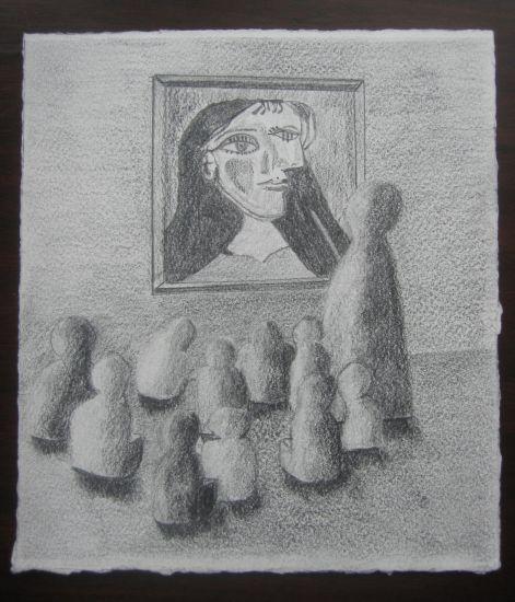 Miradas XVIII Lápiz