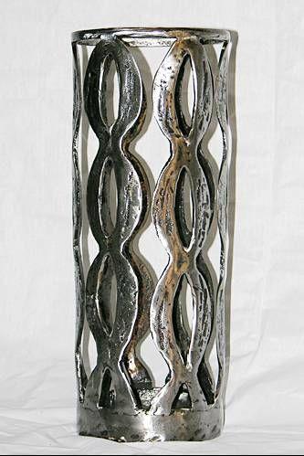 Portavelas hierro forjado Forja Metal