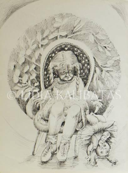 EL BERRINCHE (LIDIA KALIBATAS) Tinta