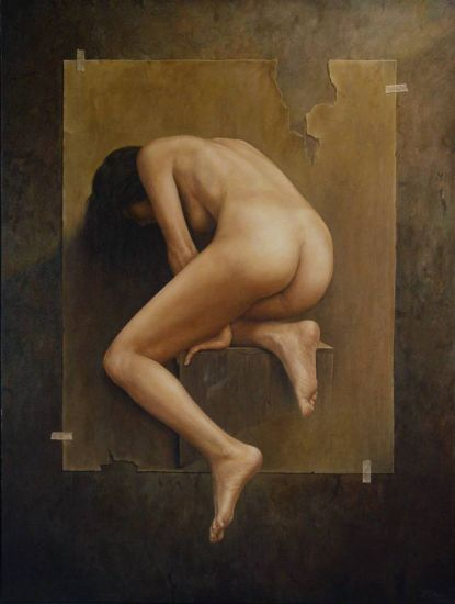 Desnudo en situación ambigua