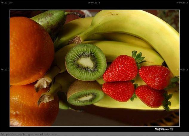 Frutas Bodegones Color (Digital)