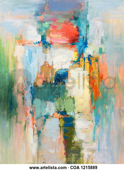 Beauty of colors 805 Others Oil Canvas