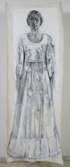 vestido de novia Óleo Lienzo Paisaje