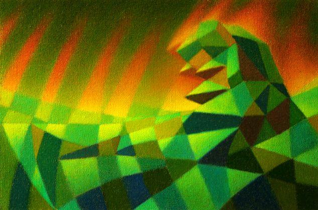 S/T (Boceto a color - Prueba # 2) Canvas Oil Others