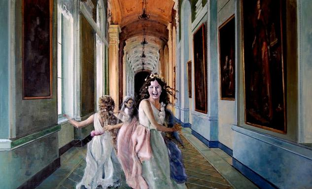 Alegria 2017 Canvas Oil Figure Painting